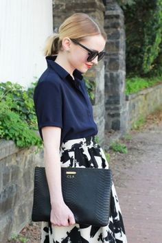 Black and White Midi