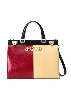 V4EDY Gucci Zumi Medium Colorblock Top Handle Bag Gucci Sylvie, Gucci Top, Gucci Accessories, Iconic Women, Girls Bags, Quilted Leather, Color Blocking, Colour Block, Womens Tote Bags