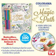 Magic Path Coloring Set with over 100 Designs