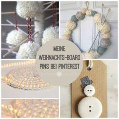 Ich habe schöne DIY Ideen für Weihnachten gesehen, die ich gerne mit dir teilen möchte: Wenn du gern bastelst und backst sind vielleicht einige Ideen dabei!