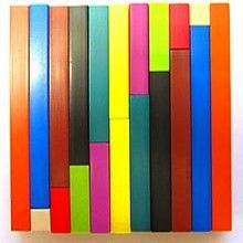 The graduated lengths of Cuisenaire Rods makes them much more useful than other types of math manipulatives. Standards For Mathematical Practice, Mathematical Practices, Common Core Standards, Learning Tools, Learning Centers, Math Games, Math Activities, Math Manipulatives, Montessori Math