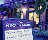 Farm to Plate Dining at NECI Montpelier Vermont - © Rachel Carter