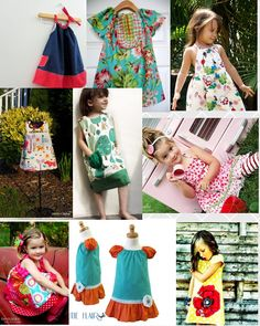 Adorable Handmade Dresses by the designers of the ETSYKIDS TEAM!!
