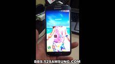 Samsung Galaxy S4 World First Hands-on i9502 China Unicom Ver., via YouTube.