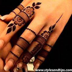 Most beautiful and easy mehndi designs See more ideas about Henna designs easy, Henna designs and Henna. How to Do Henna Design for B. Finger Mehendi Designs, Simple Arabic Mehndi Designs, Henna Art Designs, Mehndi Designs For Girls, Mehndi Designs For Beginners, Eid Mehndi Designs, Modern Mehndi Designs, Mehndi Designs For Fingers, Mehndi Design Photos