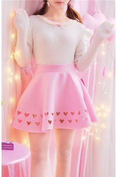 40 Ideas For Skirt Pink Girly 40 Ideen für Rock Pink Girly Pastell Goth Outfits, Pastel Outfit, Girly Outfits, Cute Casual Outfits, Skirt Outfits, Pretty Outfits, Pastel Skirt, Harajuku Fashion, Kawaii Fashion