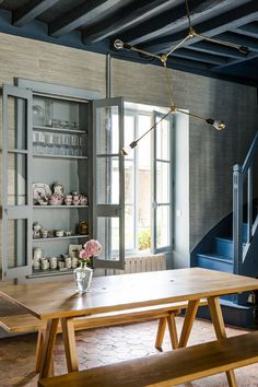 Swoon! The refurbished French 19th-century country home of Gesa Hansen and Charles Compagnon.