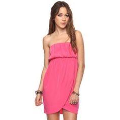 Forever 21 Strapless Dress.
