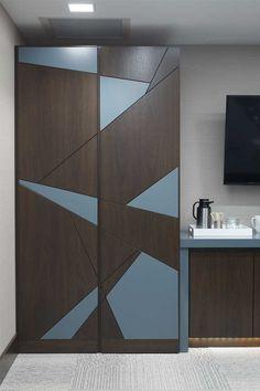 Wardrobe Laminate Design, Wardrobe Door Designs, Wardrobe Design Bedroom, Wardrobe Doors, Bedroom Wall Designs, Bedroom Cupboard Designs, Modern Bedroom Design, Contemporary Interior Design, Home Room Design
