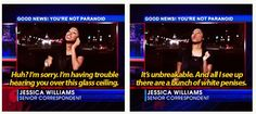 Glass ceiling, Jessica Williams, The Daily Show