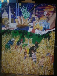 'Let The Army if God Arise'  We are one in Him; our God. The time is drawing near to be released into the harvest field.