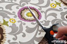 allParenting DIY Roman shade step 5