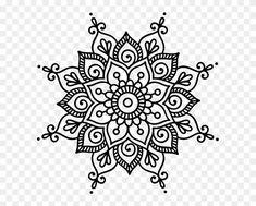 Mandala Doodle, Simple Mandala Tattoo, Mandala Dots, Flower Mandala, Mandala Pattern, Mandala Tattoo Design, Simple Mandala Designs, Flower Designs, Zantangle Art