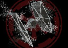 print on steel Movies & TV star wars galactic empire tie fighter shattered