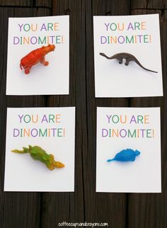 Free Printable Dinosaur Valentines for Kids Dinosaur Valentines, Valentines For Kids, Valentine Day Crafts, Holiday Crafts, Holiday Fun, Fun Crafts, Crafts For Kids, Paper Crafts, Printable Valentine