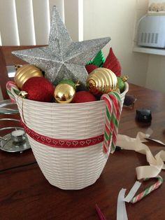 My home made christmas decoration
