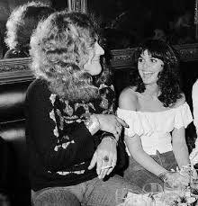 Robert Plant and Linda Ronstadt