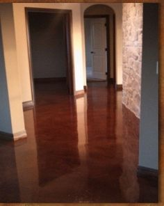 Acid Stained Floors | Acid Stained concrete floors | Homemaking and the flooring in the house throughout other than kitchen maybe