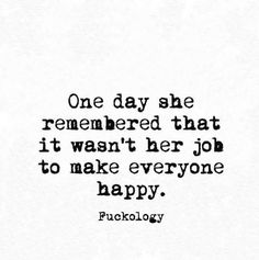 Hope she realises this eventually. Until that day, the door will always remain open.