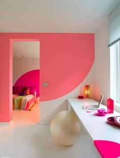 Decorate with neon at home - how I love a good pop of colour!