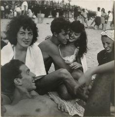 Coney Island - Sid Grossman (American, 1913–1955) 1947