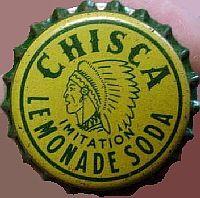 Chisca Imitation Lemonade Soda, bottle cap   Union Bottling Co., Memphis, Tennessee USA   One sold on e-Bay 6/2013 for $88.88.