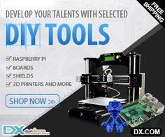 3D-tulostin kotikäyttöön. Mikäli 3D-tulostus kotona kiinnostaa, tsekkaa mahtavat tarjoukset aiheeseen liittyen täältä: http://www.fishblacklake.com/3d-tulostin-netista/