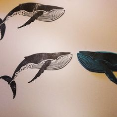 Sello whale stamp