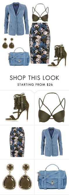 """""""Untitled #4601"""" by browneyegurl ❤ liked on Polyvore featuring River Island, Gucci, Proenza Schouler, women's clothing, women's fashion, women, female, woman, misses and juniors"""