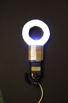 DIY : El-cheapo MACRO RING LIGHT This is crazy! Woodworking Gadgets, Embroidery Jewelry, Strobing, Macro Photography, Bottle Opener, Door Handles, Projects To Try, Diy Crafts, Picture Ideas