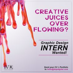 Graphic design intern wanted poster design. Portfolio Design, Graphic Design, Digital, Creative, Poster, Portfolio Design Layouts, Billboard, Visual Communication