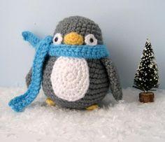 New Pattern - Crochet Penguin Pattern   https://www.etsy.com/listing/114408810/amigurumi-crochet-penguin-pattern-pdf