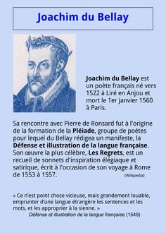 Joachim du Bellay |