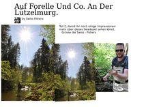 Auf Forelle und Co. an der Lützelmurg.