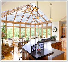 Expand Your Kitchen into a Conservatory Sunroom