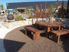 A garden created with Natural Paving. Outdoor Rooms, Outdoor Decor, Stables, Landscape, Create, Gallery, Garden, Nature, Home Decor
