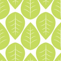 Green Leaves Seamless Pattern » Background Labs