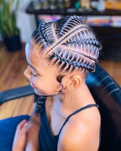 Lil Girl Hairstyles, Braids Hairstyles Pictures, Natural Hairstyles For Kids, Kids Braided Hairstyles, African Braids Hairstyles, Hair Ponytail Styles, Curly Hair Styles, Natural Hair Styles, Natural Hair Braids