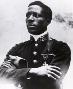 Eugene Bullard:    Acknowledged first African American military pilot, although he flew for the French flying service not the US Air Service. An American expatriate to France, Bullard was a hero of the Battle of Verdun before he began to fly for the French.