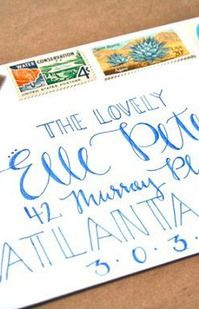 Envelope addressing how cool would it be to get a letter addressed envelope addressing spiritdancerdesigns Images