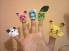 I choose you! Pokemon-puppets! *2 patterns added* - CROCHET