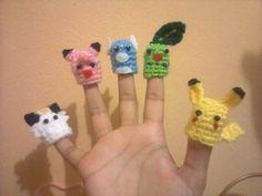 Eu escolho você! Pokemon-fantoches! * 2 padrões acrescentado * - CROCHET