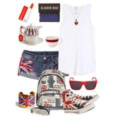 """Union Jack"" by @Jennifer Akins on @Polyvore #fashion #style #RoyalBaby"