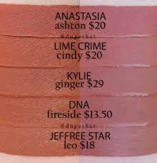 Image result for kylie jenner lip kit ginger dupe