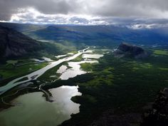 Our Sustainability Manager went hiking in Sarek and shared some stunning photos #Sandqvist #Sarek #Nature #Sweden #Mountains #Green