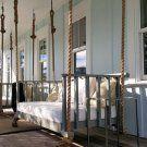 Four Oak Designs The Charleston Custom Patio Bed Swing