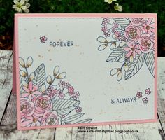 Kath's Blog......diary of the everyday life of a crafter: Floral Bliss...