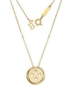Pinocchio Choi In Ha (Park Shin Hye) Lucky Button Necklace – StarberryKoko Button Necklace, Gold Necklace, Pendant Necklace, Charm Necklaces, Jewelry Case, Jewelry Sets, Fine Jewelry, Park Shin Hye, Pinocchio