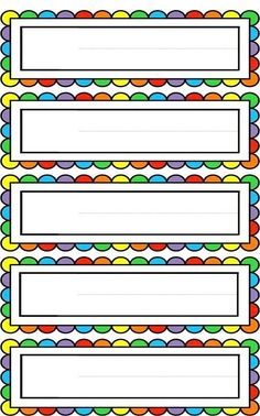 Maths Classroom Displays, Classroom Borders, Classroom Board, Classroom Labels, Classroom Decor, Frame Border Design, Page Borders Design, Circle Logo Design, Preschool Learning Activities
