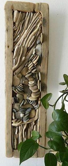 Driftwood wall art More